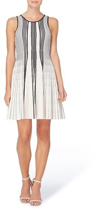 Women's Catherine Catherine Malandrino Noreen Pleated Knit Dress $138 thestylecure.com
