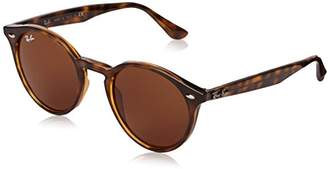 Ray-Ban Injected Man Sunglasses - Frame Dark Brown Lenses 49mm Non-Polarized