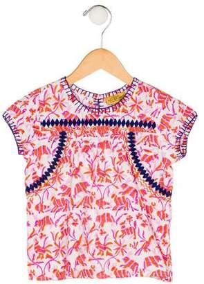 Roberta Roller Rabbit Girls' Printed Short Sleeve Top