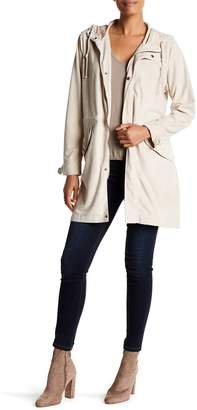 Dolce Cabo Faux Suede Hooded Jacket
