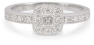Alor 18K White Gold Diamond Ring - Size 6.5 - 0.15 ctw
