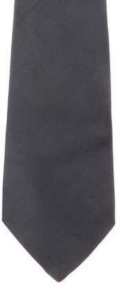 Gianni Versace Printed Silk Tie