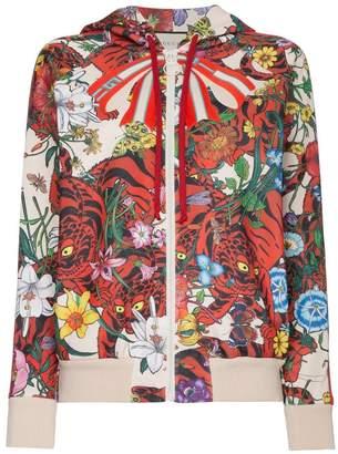 Gucci Floral print hoodie