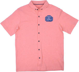 Aeropostale PS Ps Short Sleeve Button-Front Shirt Boys