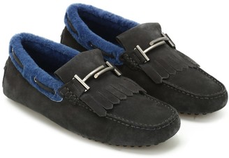 Tod's Tods Gommino Driving Moccasin In Sheepskin