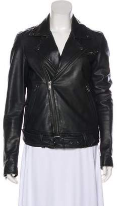 BLK DNM Leather Casual Jacket