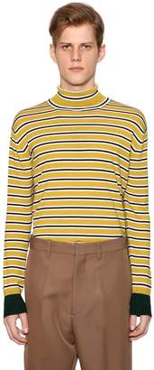 Marni Striped Wool Knit Sweater