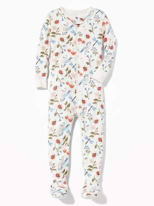 Old Navy Printed Footed Sleeper for Toddler & Baby