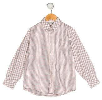 Papo d'Anjo Boys' Printed Button-Up Top