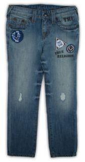 True Religion Toddler's, Little Boy's & Boy's Geno Patch Detail Skinny Jeans $89 thestylecure.com