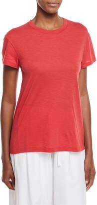 Vince Short-Sleeve Crewneck Cotton T-Shirt