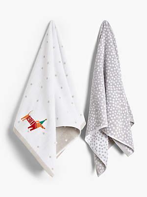 Dachshund Hand Towel Bale, Set of 2