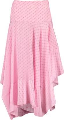 Stella McCartney Asymmetrical Layered Poppy Skirt