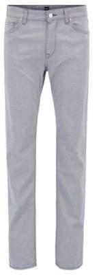 BOSS Hugo Cotton Pant, Regular Fit Maine 40/34 Open Blue