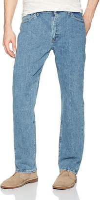Wrangler Authentics Men's Relaxed Fit Jean with Flex Denim