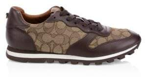 Coach Logo Low-Top Running Shoes