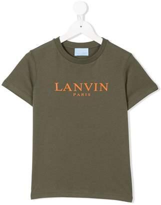 Lanvin Enfant logo printed T-shirt