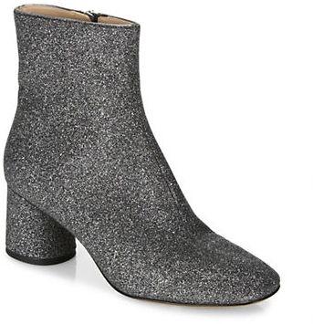 Marc JacobsMarc Jacobs Valentine Glitter Block Heel Booties