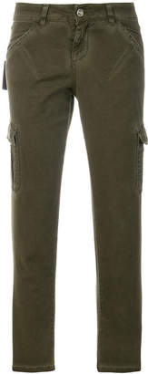 Twin-Set cropped fitted trousers