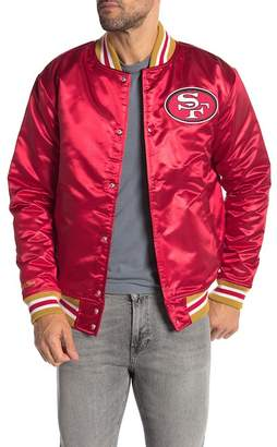Mitchell & Ness San Francisco 49ers Satin Jacket