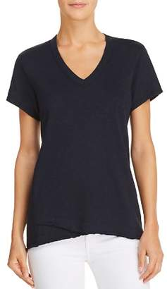 Wilt Shrunken V-Neck High/Low Tee