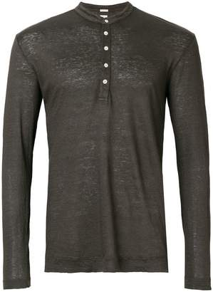 Massimo Alba longsleeved button jumper