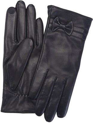 Royce Leather Royce New York Women's Leather Lambskin Touchcreen Gloves