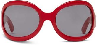 Oliver Goldsmith Sunglasses Yuhu 1966 Red