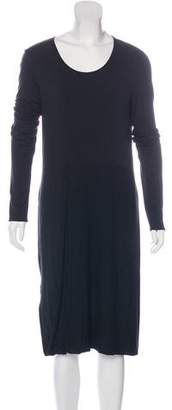 Maison Margiela Long Sleeve Midi Dress