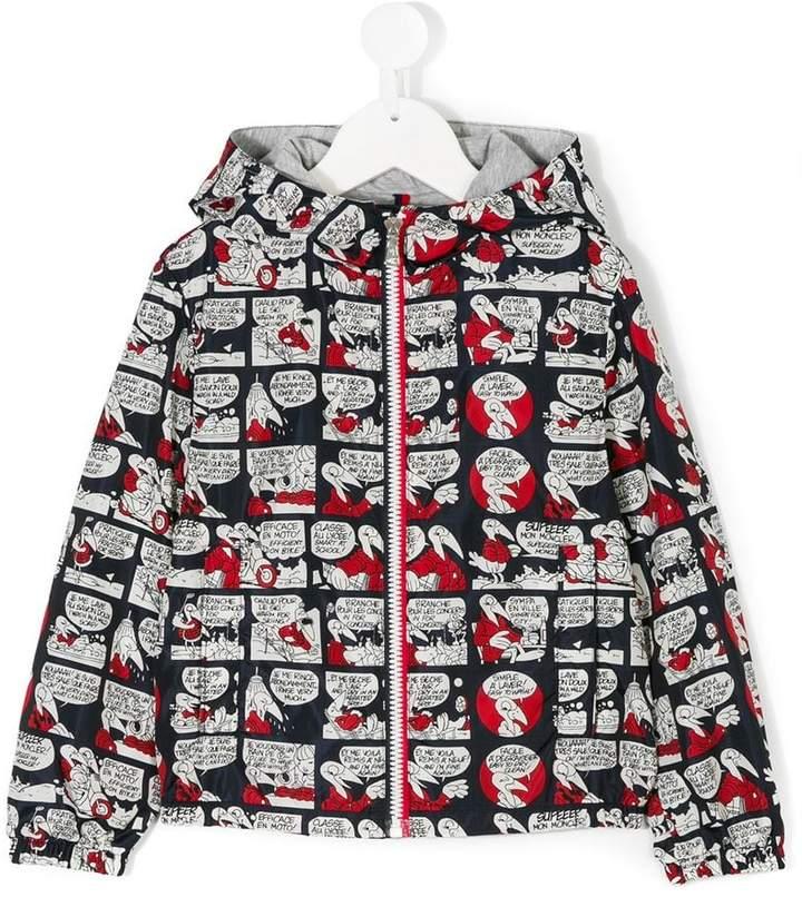 zipped cartoon jacket