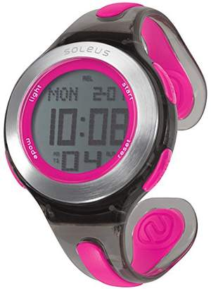 Soleus Women's SR017-011 Swift Digital Display Quartz Pink Watch