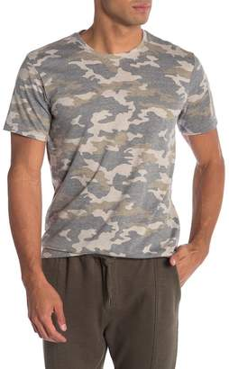 Public Opinion Short Sleeve Camo Print Tee