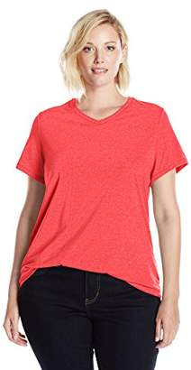 Champion Women's Plus Size Double Dry Cotton Tee
