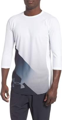Under Armour Three Quarter Sleeve Print Performance T-Shirt