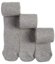 F&F 3 Pack Of Super Soft Knitted Tights 3-4 yrs