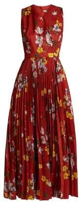 Erdem Noemi floral-jacquard dress