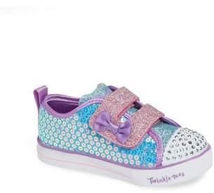 Skechers Shuffle Lite Glitter Sneaker