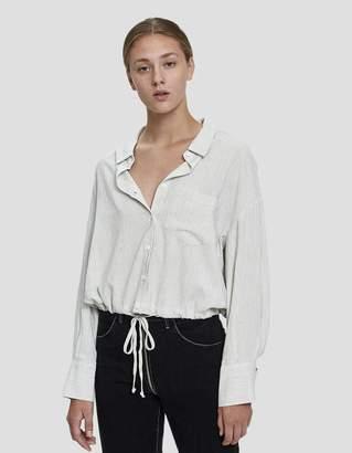 Ophelia Stelen Drawstring Waist Shirt