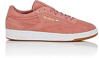 Reebok Men's BNY Sole Series: Men's Club C 85 Suede Sneakers - Pink