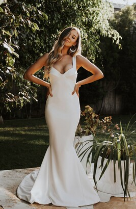 Katie May Noel and Jean by Va Va Voom Mermaid Wedding Dress