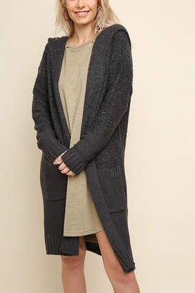 Umgee USA Charcoal Cardigan