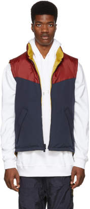 Burberry Reversible Tricolor Down Penwell Vest