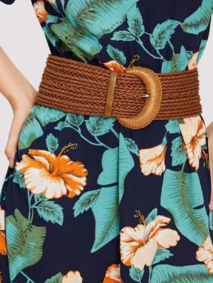 Shein Braided Wide Belt