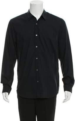 James Perse Woven Button-Up Shirt