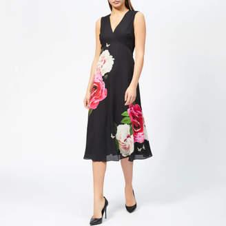 Ted Baker Women's Ulna Magnificent Print Midi Dress