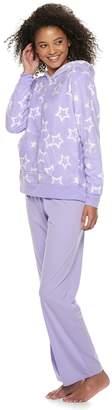 So Juniors' SO Plush Hoodie & Pants Pajama Set