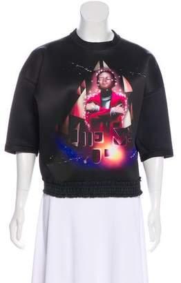 Balenciaga Egyptofunk Neoprene Sweatshirt