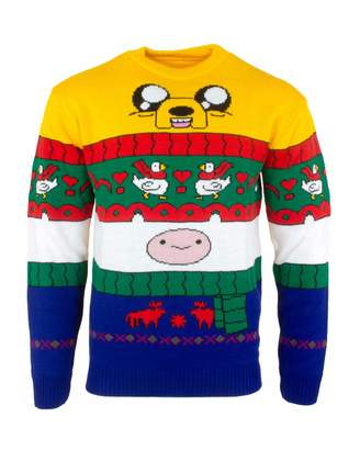 Finn Adventure Time Ugly Christmas Sweater & Jake for Men Women Boys and Girls - L