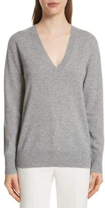 Theory (セオリー) - Theory Button Sleeve Cashmere Sweater