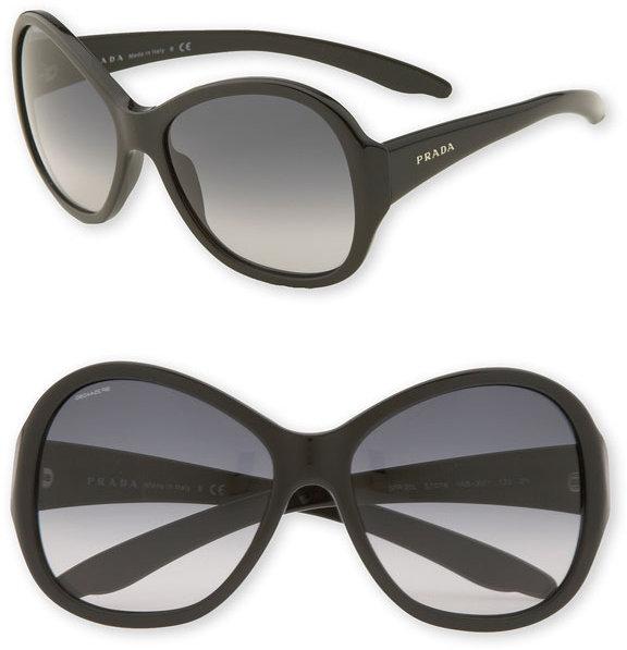 Prada 'Glamour' Oversized Sunglasses